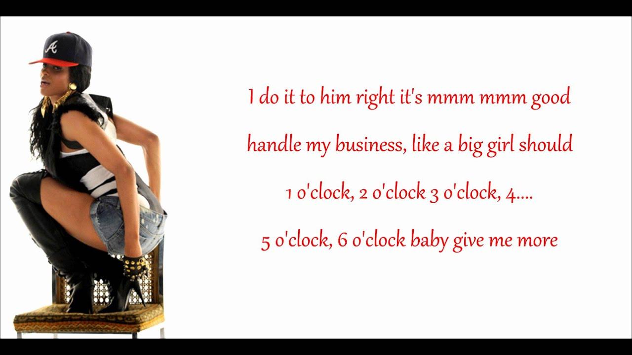 Ciara ride song lyrics