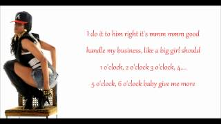 Ciara feat. Ludacris - Ride (Lyrics)