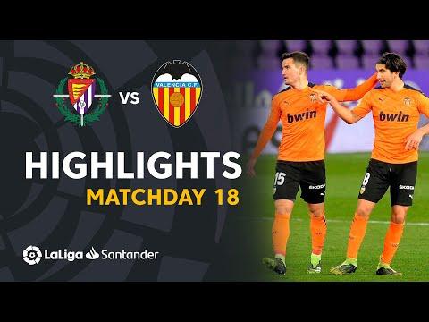 Highlights Real Valladolid vs Valencia CF (0-1)