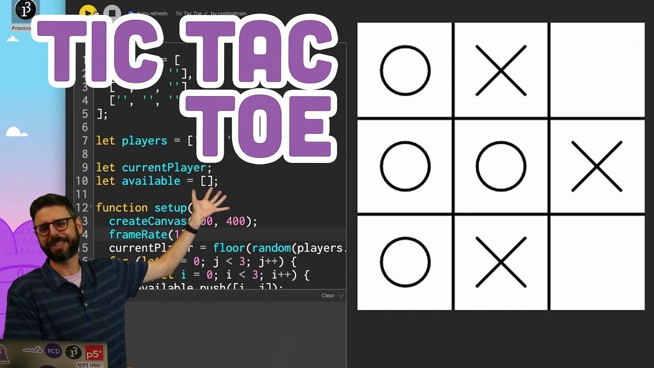 Coding Challenge #149: Tic Tac Toe