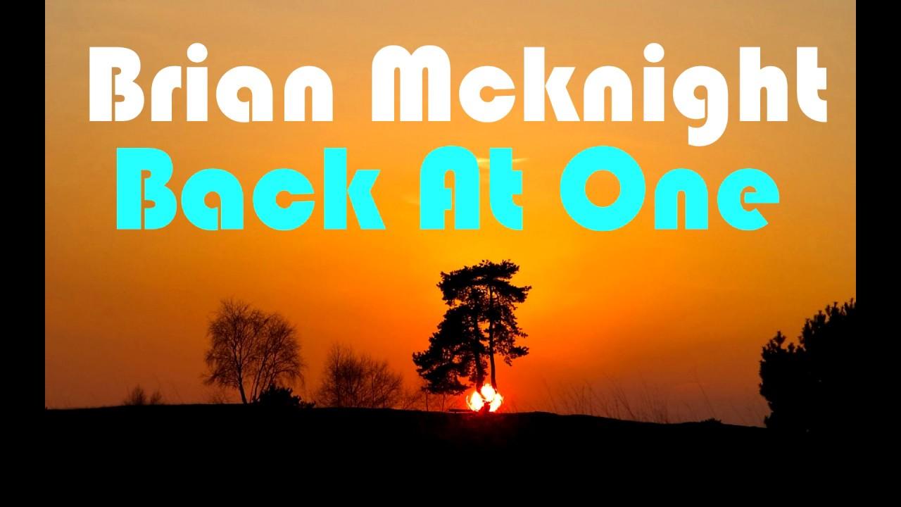 Brian McKnight - Back At One (Lyrics) HD - YouTube