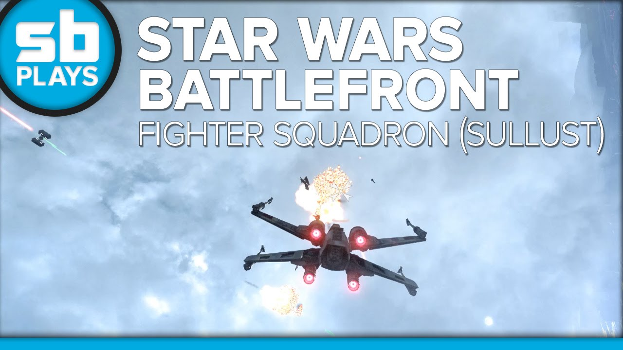 SB Plays: Star Wars: Battlefront - Fighter Squadron (Sullust)