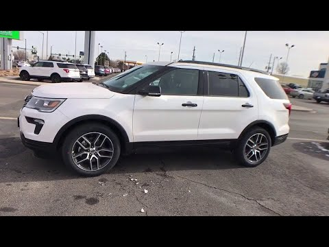 2018 Ford Explorer Centennial CO, Littleton CO, Fort Collins CO, Greeley CO, Cheyenne WY JGA42303