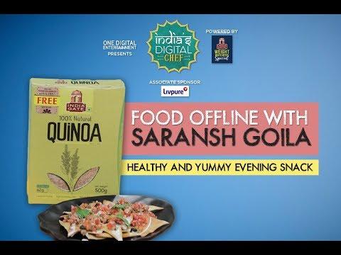 Super Healthy and Delicious Evening Snack Recipe by Chef Saransh Goila