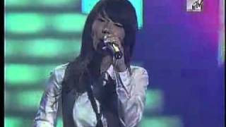 Repeat youtube video Black Pearl - I Can't Help Liking You 20070915 MTV live wow special