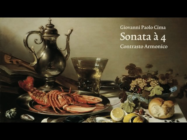 Giovanni Paolo Cima: Sonata à 4