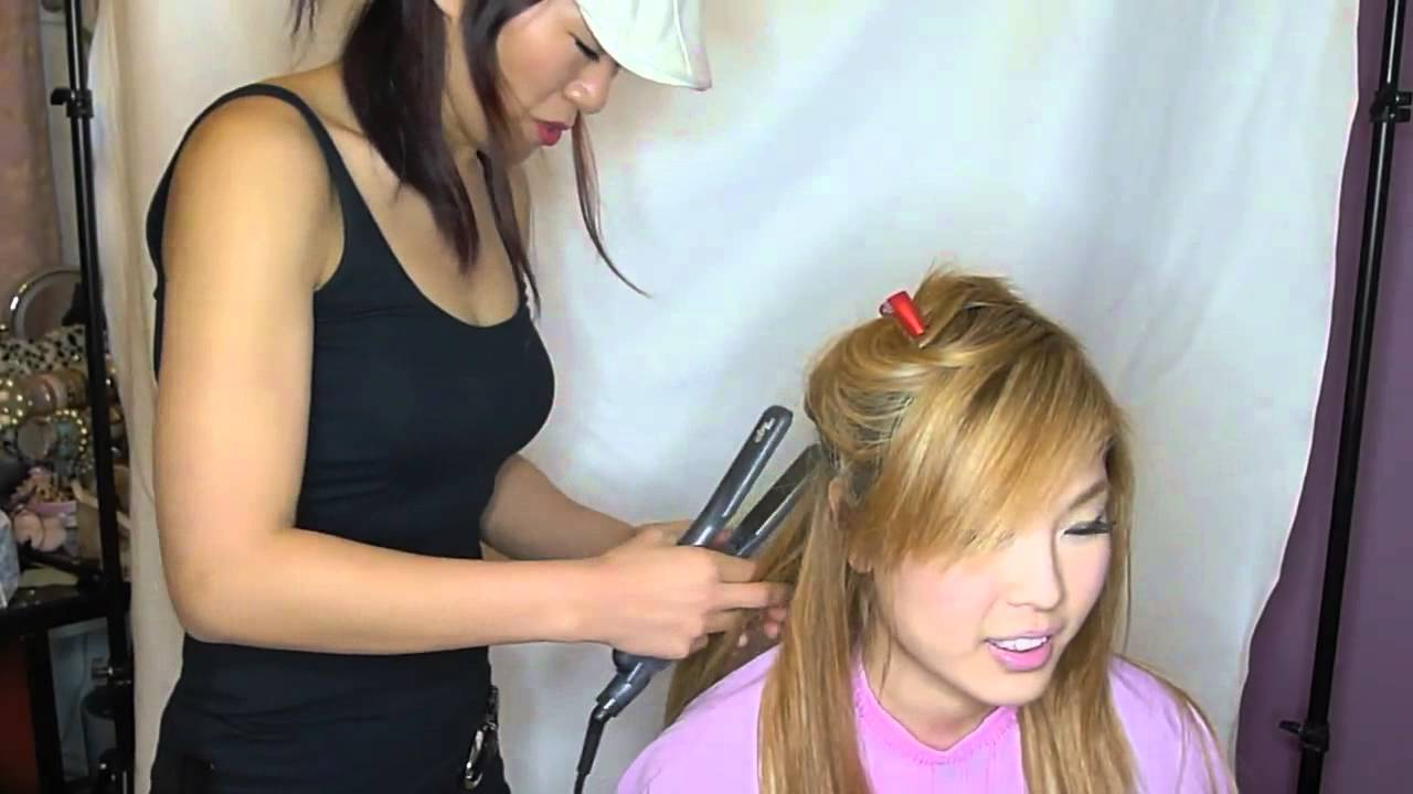 My Japanese Braided Hair Extensions Youtube