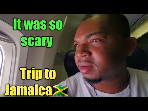 Scary Flight To Jamaica | Thought We Were Going To Crash