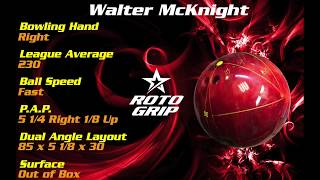 RotoGrip Outcry / Rotogrip Uproar Ball Review by Walter McKnight