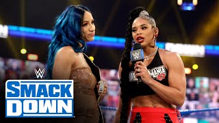 Bianca Belair to challenge Sasha Banks at WrestleMania: SmackDown, Feb. 26, 2021