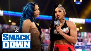 Bianca Belair to challenge Sasha Banks at WrestleMania: SmackDown, Feb. 26, 2021