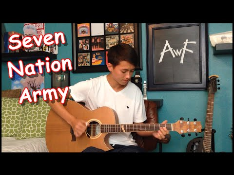 The White Stripes - Seven Nation Army - Cover (Fingerstyle Guitar)