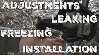 Frost Proof Hydrant Tips and Tricks - Prevent leaking and freezing