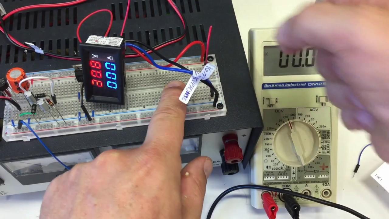 3 Digit Dvm Voltmeter