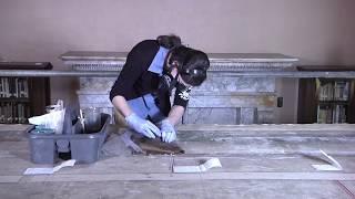 Restoration of Pierre Puvis de Chavannes' Philosophy Mural Panel