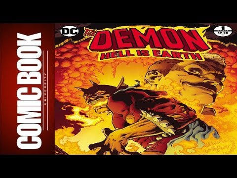 Demon Hell Is Earth #1 | COMIC BOOK UNIVERSITY
