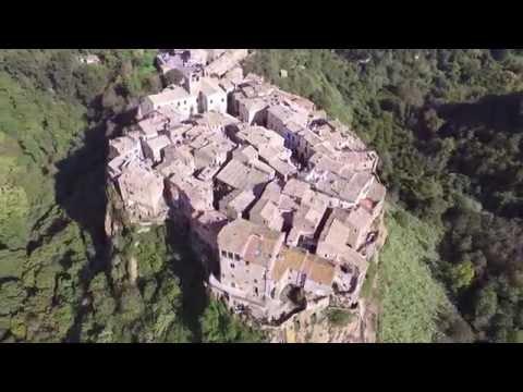 Calcata Viterbo Italy - Ancient Village Castle Church