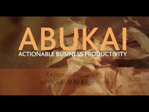 Expense Reporting with ABUKAI Expenses - Receipt App / Spending Tracker (Excel spreadsheet)