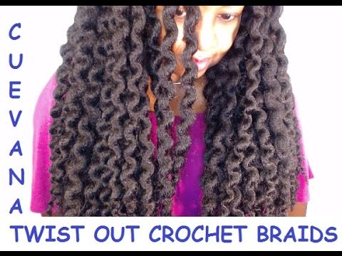 Outre xpression cuevana twist out crochet braids 1b youtube - Crochet braids avec xpression ...