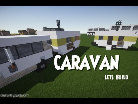 minecraft lets build caravan tutorial youtube. Black Bedroom Furniture Sets. Home Design Ideas