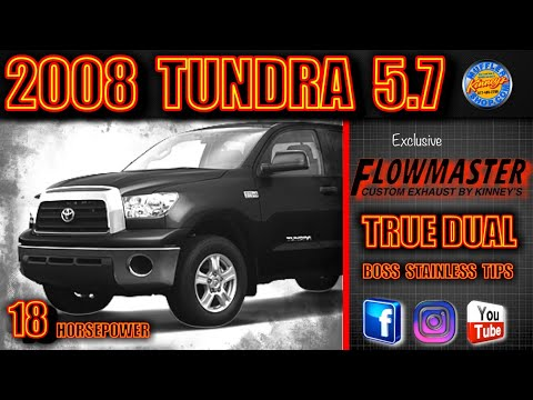 2008 Toyota Tundra 5 7 Liter Custom True Dual System With