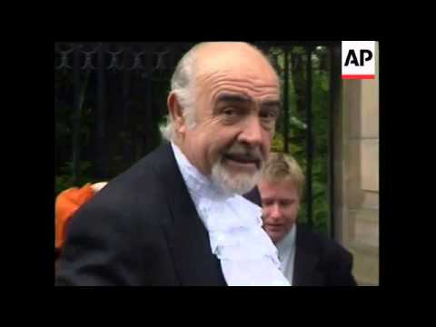 UK: Actor Sean Connery Knighted