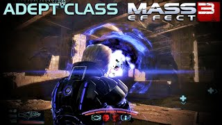 Mass Effect 3 - Adept Class Gameplay - Level 60 (Insanity difficulty)