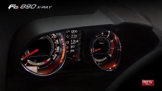Комбинация приборов GF 890 XRay, видеоинструкция по монтажу