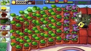 Plants vs Zombies Hack: Threepeater vs Torchwood vs Dr. Zomboss