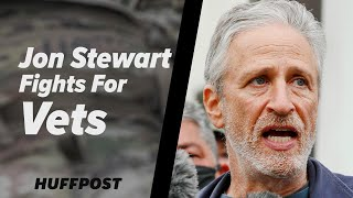 Jon Stewart Fights For Vets