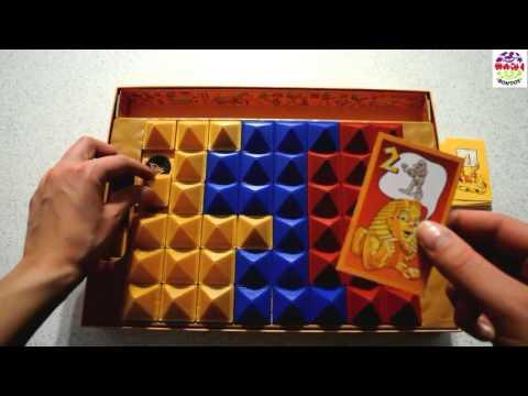 RAVENSBURGER 26160 Настольная игра RAMSES II в коробке от магазина ДЕТКИ