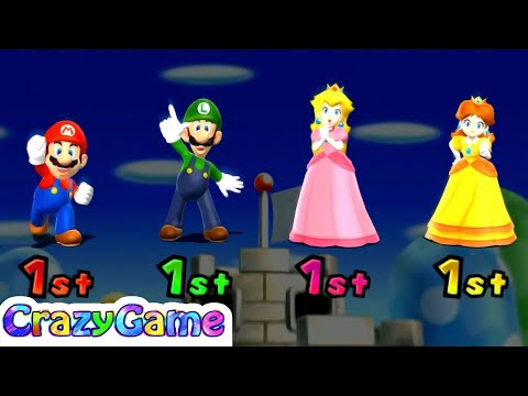 Mario Party 9 - Top 20 Best Free for All Minigames Gameplay
