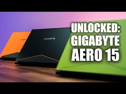 GIGABYTE Aero 15 Laptop - GTX 1060 with Bezel-less Display