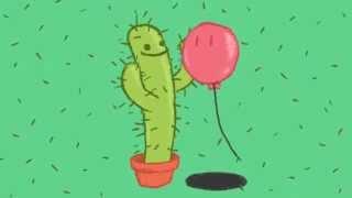 O cacto e o balão