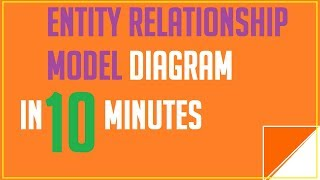 Entity relationship model diagram in DBMS | entity relationship model | entity relationship diagram