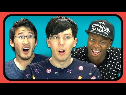 Thumbnail: YouTubers React to The Horribly Slow Murderer with the Extremely Inefficient Weapon