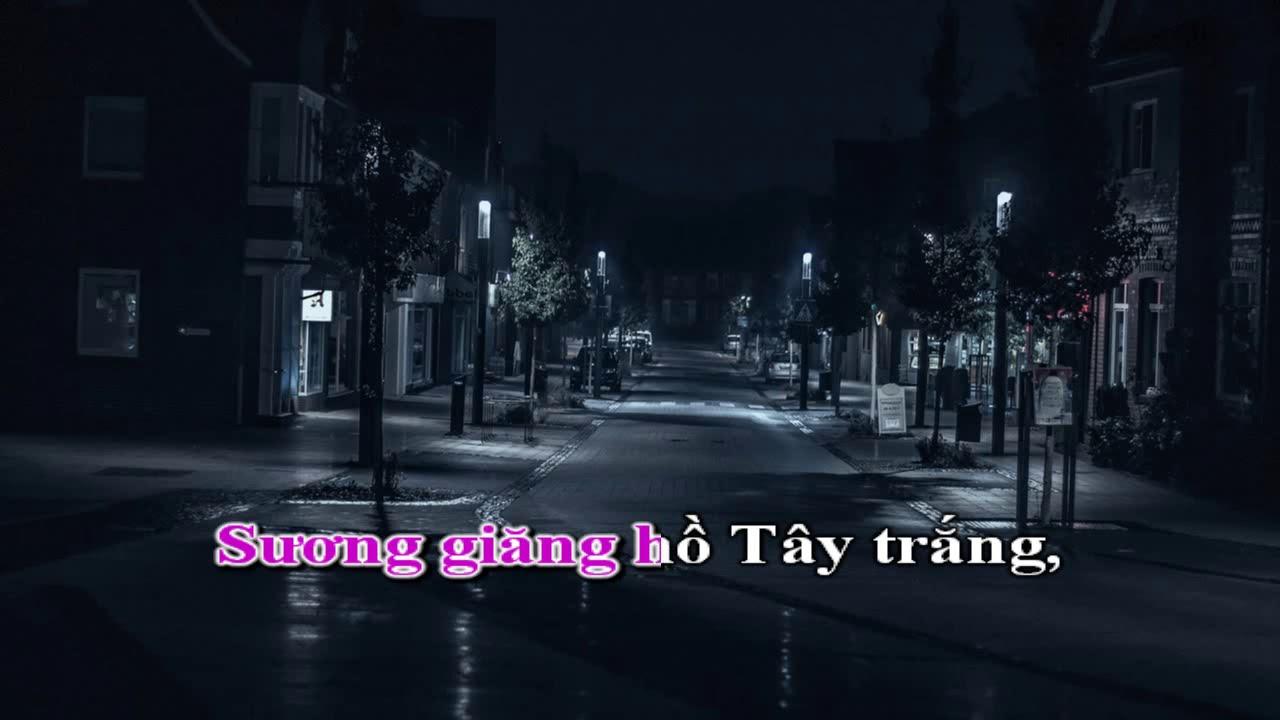 Pmt Karaoke đem Nằm Mơ Phố Việt Anh Youtube