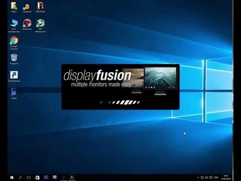 (DisplayFusion PRO) Игра на одном мониторе - браузер на другом.