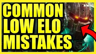 THE MOST COMMON LOW ELO SUPPORT MISTAKES (AND HOW TO FIX THEM!) || Nautilus Coaching Season 10