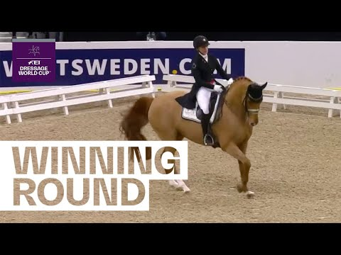 Cathrine Dufour's Performance Will Put A Smile On Your Face | FEI Dressage World Cup™ Gothenburg