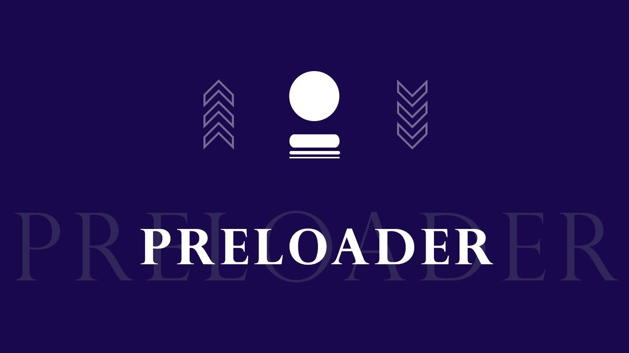 Preloader Animation Using HTML & CSS Page Loader Animation   Website Preloader Animation