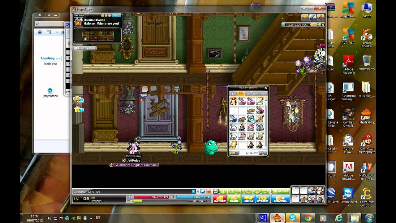 maplestory new leaf city training guide lvl 10 100 hd youtube rh youtube com maplestory leveling guide 2012 MapleStory Gameplay