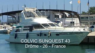 A vendre / For sale : COLVIC 43 SUNQUEST