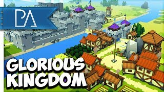 BUILDING A GLORIOUS KINGDOM - Kingdoms and Castles Gameplay