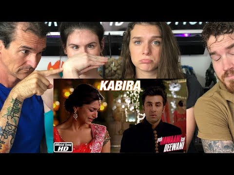 KABIRA Song REACTION!!  Yeh Jawaani Hai Deewani   Ranbir Kapoor   Deepika Padukone