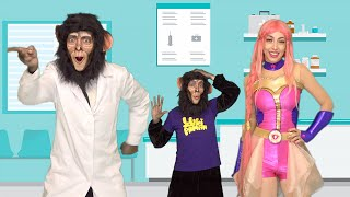 Luli Pampín - CINCO MONITOS 🐵🙈🙉🙊🐵 ☝️👨⚕ - Official Video