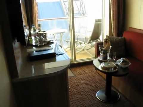 Room Tour of Aqua Class Stateroom on Celebrity Reflection ...