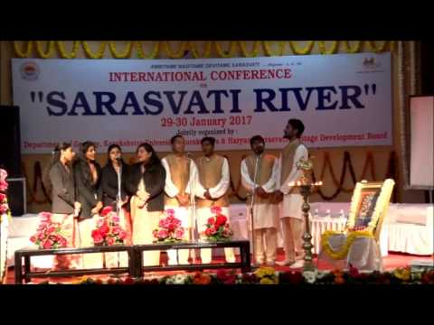 Inaugural Function International  Conference on Sarasvati River - 1