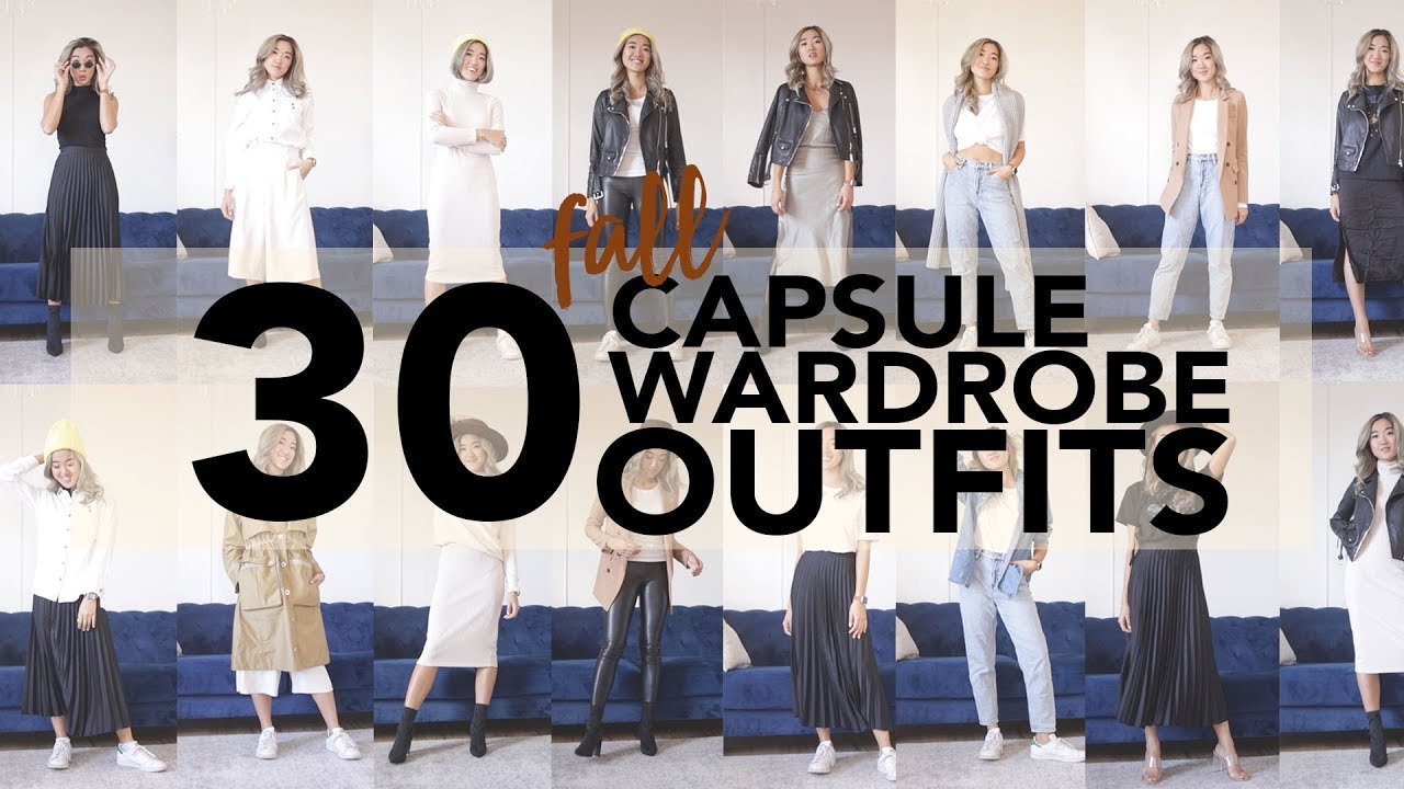 [VIDEO] - 30 FALL CAPSULE WARDROBE OUTFIT IDEAS 7
