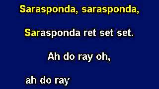 Download Sarasponda, Karaoke  with lyrics, Instrumental version MP3 song and Music Video